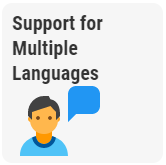 Support for multiple languages
